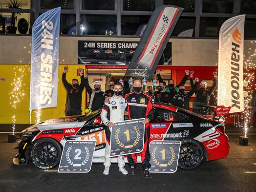 "AVIA Sorg Rennsport auf der Mission Titelverteidigung ""Champion of the Continents"" beim Hankook 24h Dubai 2021"